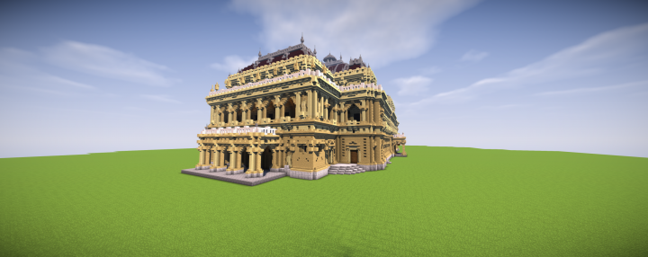Popular Project : Hungarian State Opera House in Minecraft