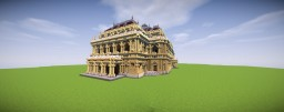 Hungarian State Opera House in Minecraft Minecraft Map & Project