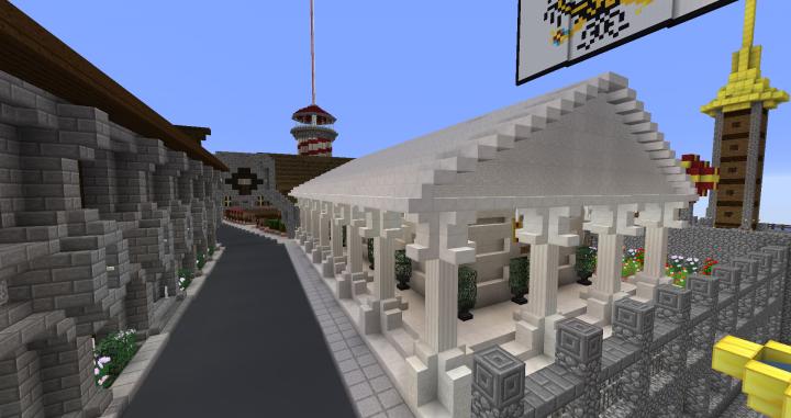 Popular Server Project : Temple of Herobrine