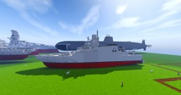 Littoral combat ship class hynamlius Minecraft Map & Project