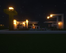 Modern House 1# Minecraft Map & Project