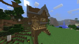 Small Medievial-House Minecraft Map & Project
