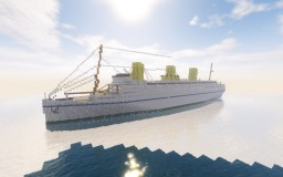 RMS Empress of Britain (1930) Minecraft Map & Project