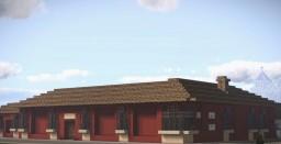 Casa del Tejido, Santiago de los Caballeros, Guatemala Minecraft Map & Project