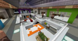 Villagers Mall + villagers assorting Minecraft Map & Project