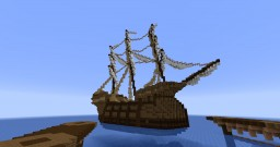The War Galleon from Pirates of the Caribbean Online Minecraft Map & Project