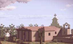 Mission Nuestra Señora Reina de los Ángeles Asistencia, Los Angeles, Alta California Minecraft Map & Project