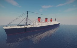 RMS Queen Mary 1:1 Minecraft Map & Project