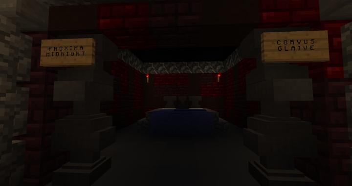 Proxima Midnight & Corvus Glaive's Cabin