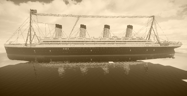 Popular Project : RMS Olympic 1913