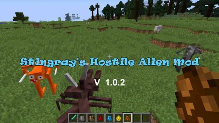 Popular Mod : Stingray's Alien Hostile Mobs Mod!