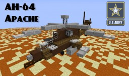 AH-64 Apache - Helicopter Minecraft Map & Project