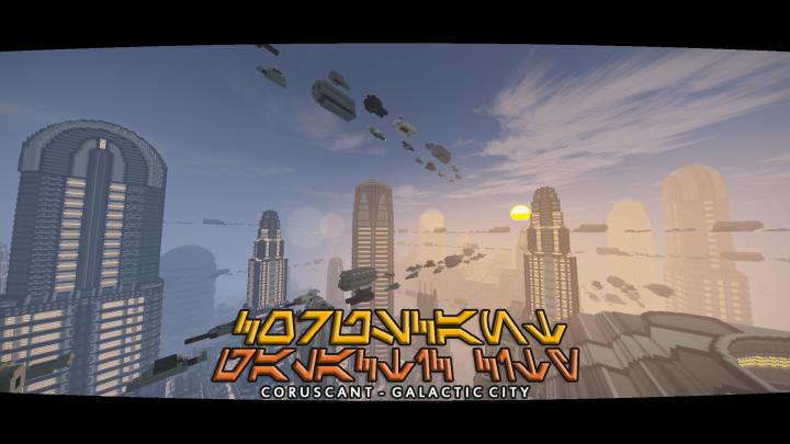 Popular Project : Coruscant - Galactic City