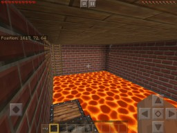 The floor is LAVA map Minecraft Map & Project
