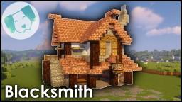 Medieval Blacksmith w Tutorial Minecraft Map & Project