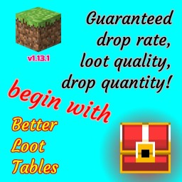 Better Loot Tables [Data Pack] Minecraft