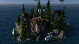 A Lost Nordic Island Minecraft Map & Project