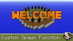 Custom Spawn Function | 1.13+ Tutorial Minecraft Map & Project