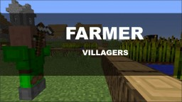 The Farmer Villagers Minecraft Map & Project