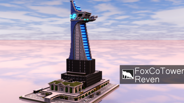 Popular Project : | FoxCo Tower | (Avengers Tower) (+Download)