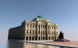 Staszic Palace in Warsaw | Neoclassicism Minecraft Map & Project