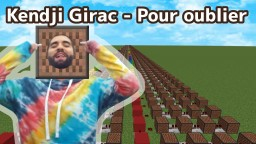 Kendji Girac - Pour oublier/Bloc musical Couverture Minecraft Map & Project