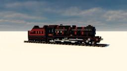 "LMS Stanier Class 5 4-6-0 "" BLACK FIVE "" Minecraft"