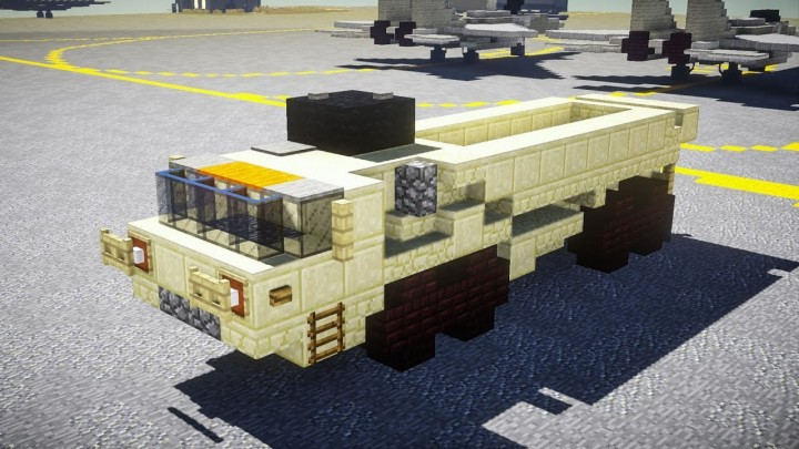 Popular Server Project : Oshkosh HEMTT M977 Tactical Cargo Truck