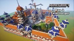 Minecraft création de spawn (9) map à télécharger Minecraft Map & Project