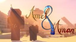 Amel & Aman | Short Film 48H (Machinima Minecraft) [Subs EN] Minecraft Map & Project