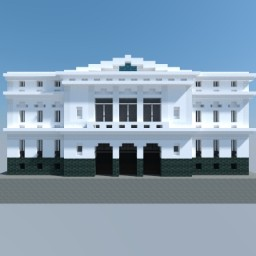 Santiago City Hall Minecraft Map & Project