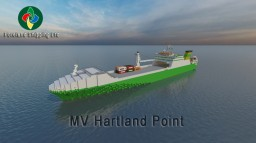 M/V Hartland Point [Scale 1:1] Minecraft Map & Project