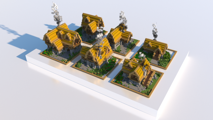 Popular Project : Warmup build - Medieval Houses