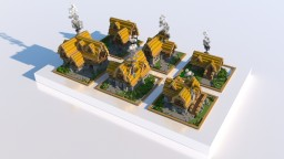 Warmup build - Medieval Houses Minecraft Map & Project