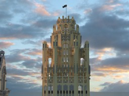 Tribune Tower   Chicago Minecraft