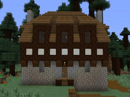 Medieval-Inspired Cottage Minecraft Map & Project