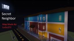 Secret Neighbor, Version 1.0 Minecraft Map & Project