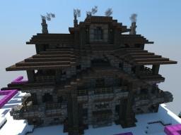 Snowy Kingdom Inn Minecraft