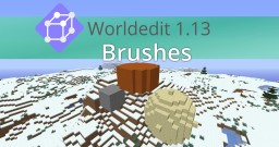 Worldedit 1.13 Brushes for Minecraft Vanilla | Datapack Minecraft Mod