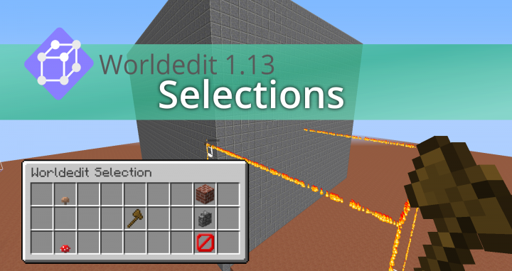 Popular Mod : Worldedit 1.13 - Select and Fill in Vanilla | Datapack