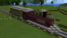 Estação de Trem Minecraft Map & Project