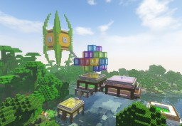 Iron Farm Minecraft Map & Project