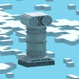 Greek column Minecraft Map & Project