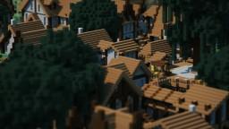 Willow Glades - swamp village Minecraft