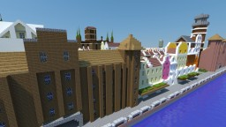 Minecraft Gdansk city 1:1. Minecraft Map & Project