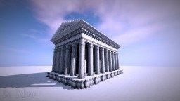 Greek temple Minecraft Map & Project