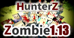 Tissou's HunterZ Zombie Pack [OPTIFINE] 1.13 Minecraft Texture Pack