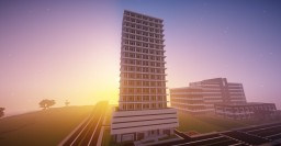 Eclipse Tower from Gta V Minecraft Map & Project