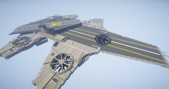 Popular Project : Shield home base- The aircraft