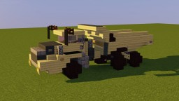 Volvo Articulated Dump Truck Minecraft Map & Project